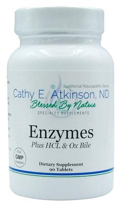 Enzymes Plus HCL & Ox Bile