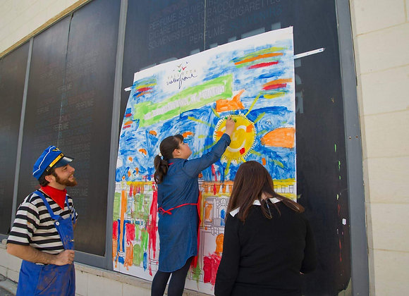 Giant Canvas Activity