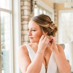 Gorgeous photos of Amanda's hair and mak