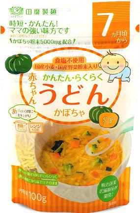 TANABIKI Akachan Udon Kabocha Pumpkin 100g 7months+