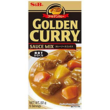 SB Golden Curry Hot 92g