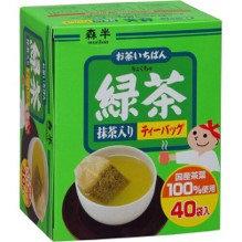 MORIHAN Ryokucha TB 80g Green Tea Bag 40pc