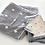 Thumbnail: Imabari MURAKAMI Binchotan Charcoal Fibre Gauze towel Gray Dot