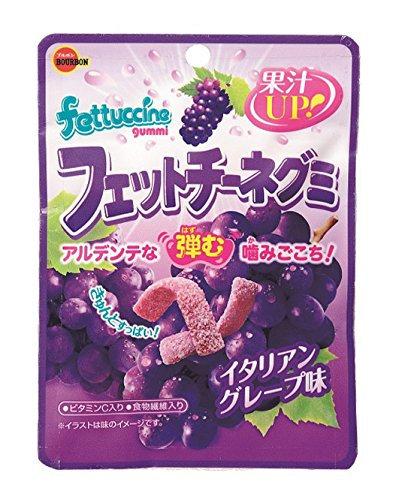 Gummy Italian Grape 50g Fettuccine Gummy BOURBON