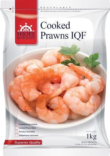 Cooked Peel Prawn 21-25 1kg