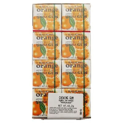 MARUKAWA Gum Orange 43g