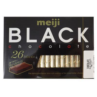 MEIJI Black Chocolate 120g