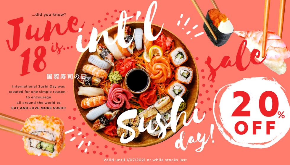 Intl Sushi Day