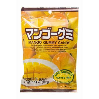 KASUGAI Gummy Mango 102g