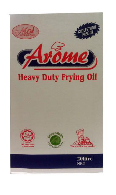 AROME Palm Olein Oil TIN 20L Vegetable Oil TIN