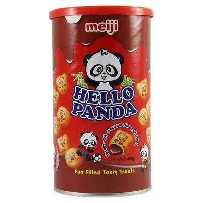 Hello Panda Choco Can 400g
