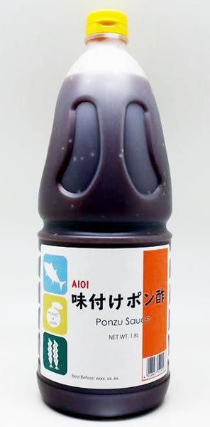 AIOI Ajitsuke Ponzu 1.8L Citrus Seasoned Rice Vinegar  Ajipon