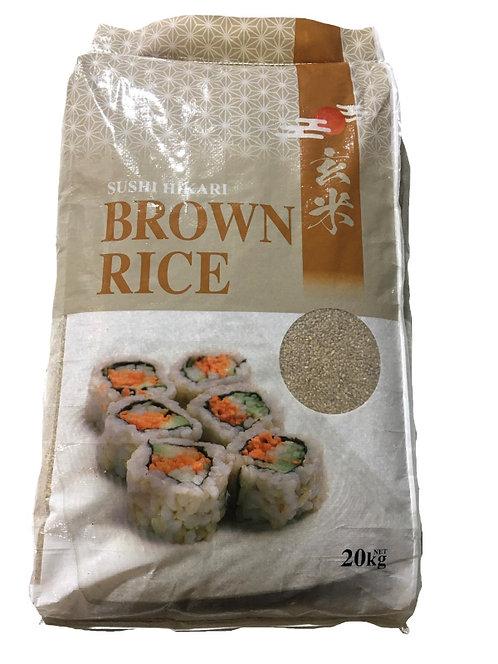 SUSHI HIKARI Brown Rice 20kg