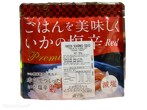 ASUKA Shiokara Red 90g Frozen Prepared Squid Premium
