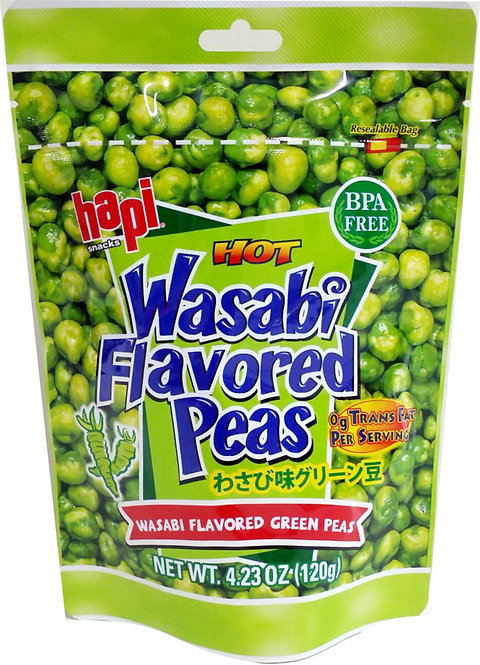 HAPI Wasabi Green Pea 120g