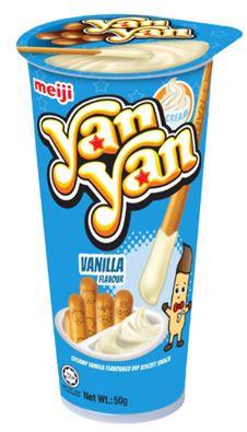 MEIJI Yan Yan Vanilla 50g