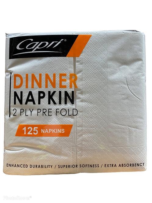 Dinner Napkin White 125pc 400x400 2ply