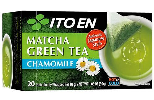 ITOEN Green Tea Chamomile (20pcs)