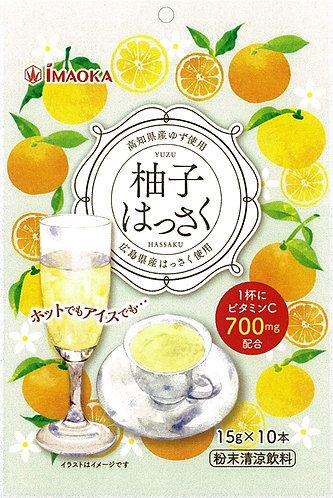 IMAOKA Yuzu Hassaku drink 15g 10pc 150g