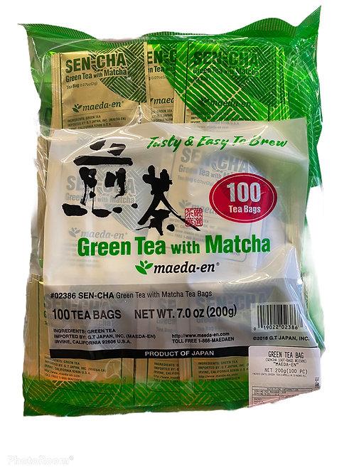 MAEDA EN Sencha TB 100pc Green Tea Bag