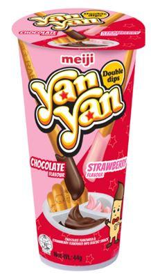 MEIJI Yan Yan Cookie & Strawberry 50g