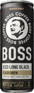 SUNTORY Boss Black 237ml