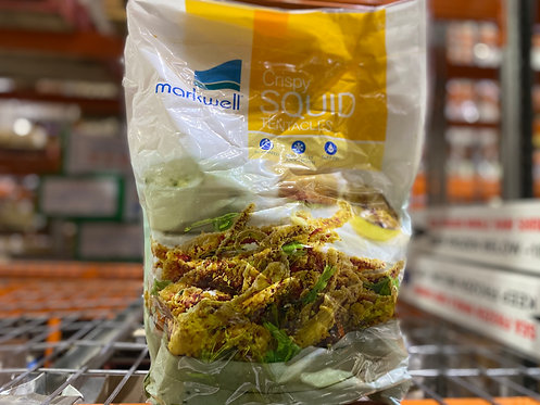 Crispy Squid Tentacles 1kg Frozen MARKWELL Fried Ikageso