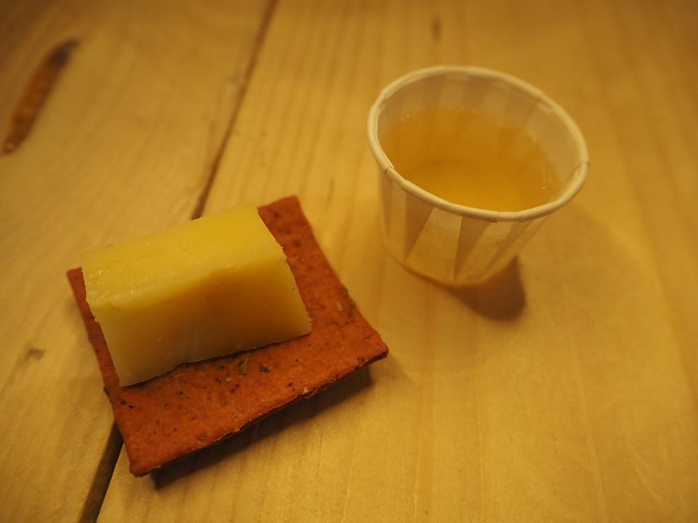 Premium Cider & Wyfe of Bath Cheese