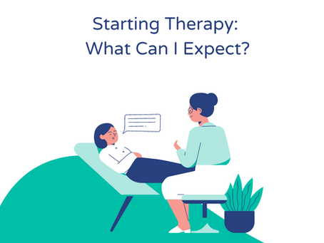 Starting Therapy: What can I expect?