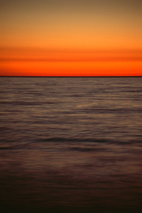 Sunset, Laguna Beach California 18 x 24 Archival Print