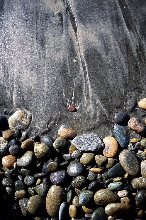 Pebbles and Sand 18 x 24 Archival Print