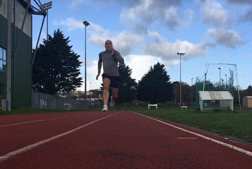 Sprinting form
