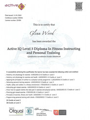 `level 3 Personal Trainer