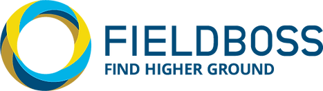 FIELDBOSS Full Colour Blue Logo PNG -NEW