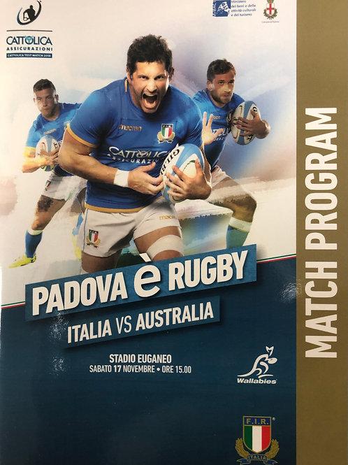 Italy v Australia