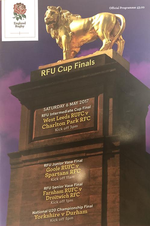 RFU Cup Finals 2017