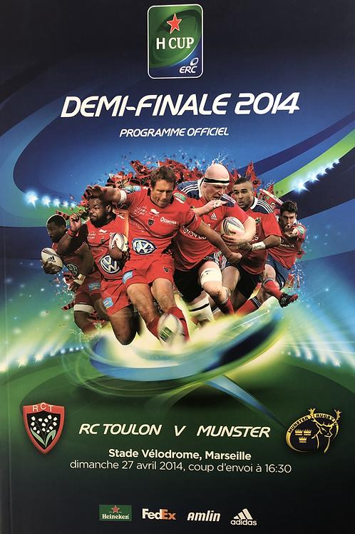 Heineken Cup Semi Final 2014