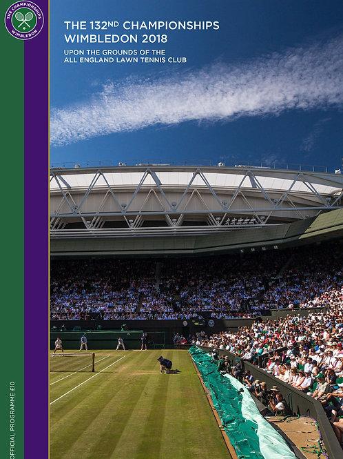 Wimbledon 2018 Day 1 Official Programme