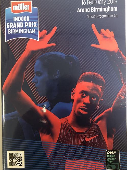Muller Indoor Grand Prix - Birmingham