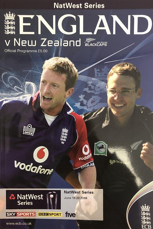 Natwest Series England v New Zealand 2008