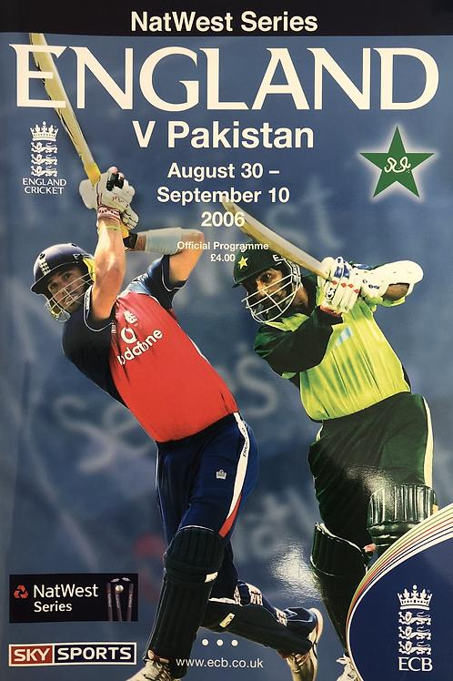 Natwest Series England v Pakistan 2006