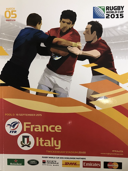Rugby World Cup 2015 - France v Italy