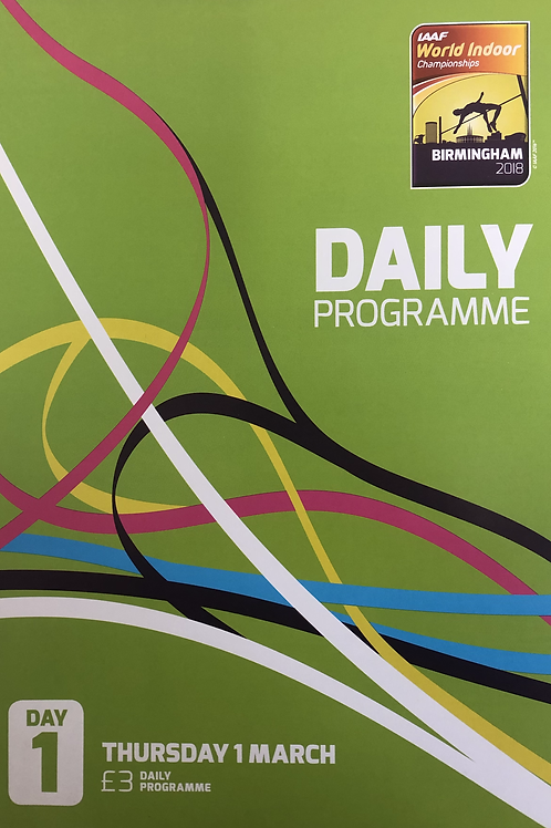 IAAF World Indoor Championships2018 Daily Programme
