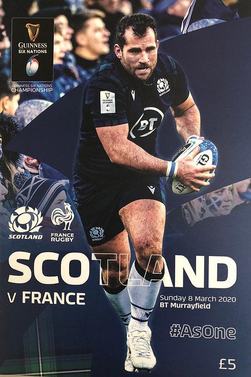 Scotland v France 08.03.2020