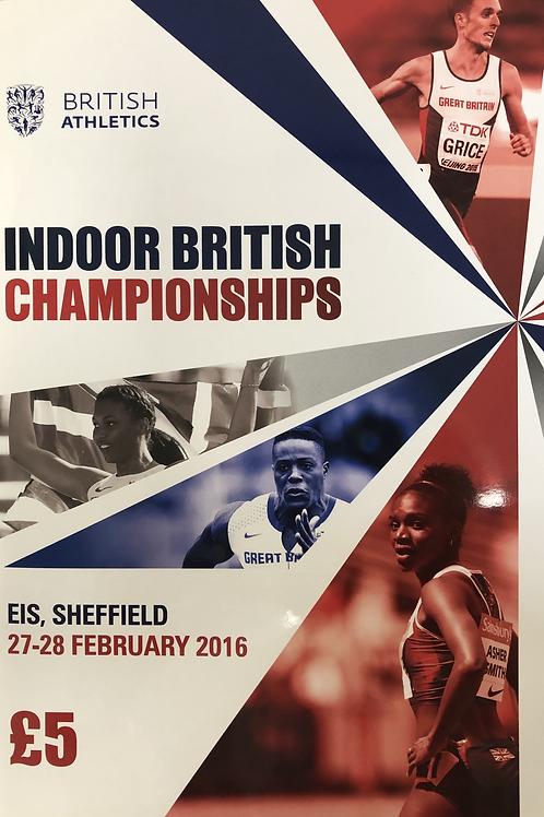 Indoor British Championships 2016