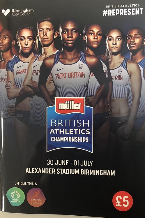Muller British Athletics Championships 2018