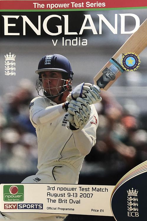England v India 3rd Test Match 2007