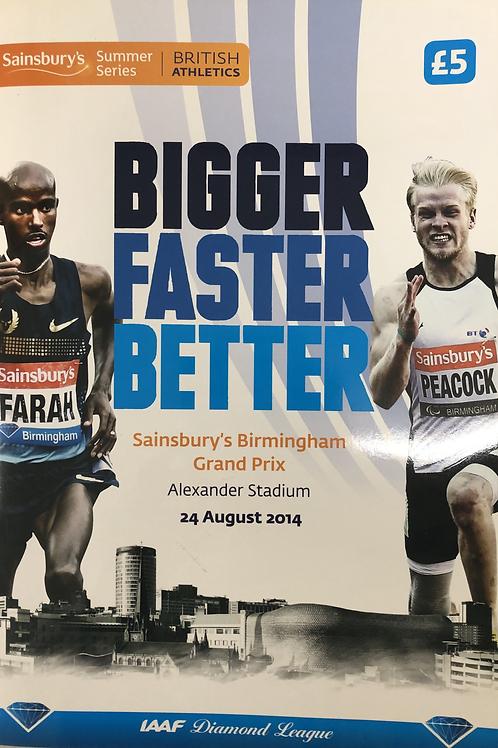 Sainsbury's Birmingham Grand Prix 2014