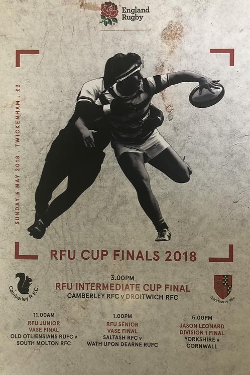 RFU Cup Finals 2018