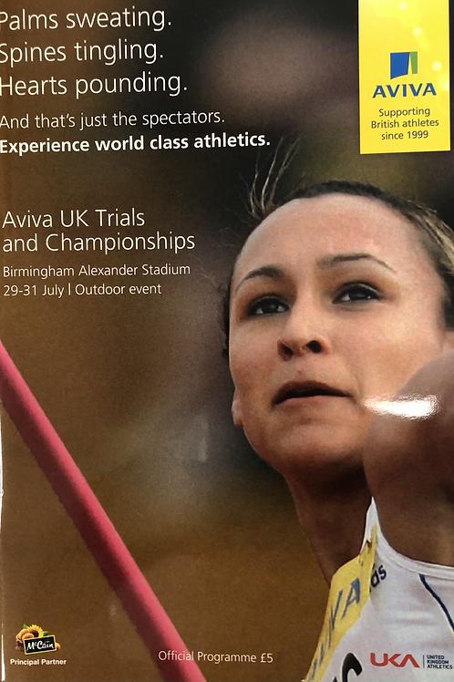 Aviva UK Trials and Championships 2011